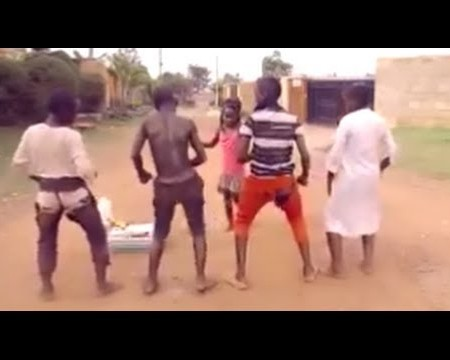 Ghetto Kids Dancing Sitya Loss New Ugandan music 2014 DjDinTV