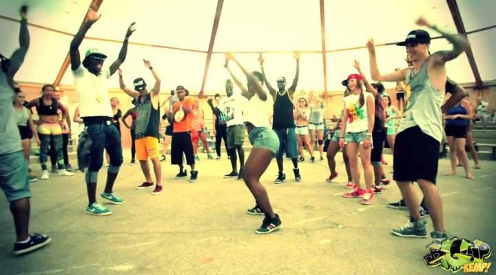 """P-SQUARE – ALINGO"" DANCEHALL WORKSHOP BY ANDREY BOYKO & LIL'JAZZ IN BIGUP KEMP EUROPE 2013!"